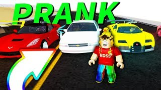 TROLLING SUPER CARs avec MAXED CHEVY IMPALA dans VEHICLE SIMULATOR! (Roblox)
