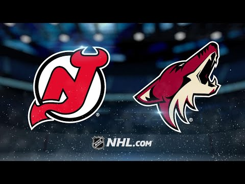 Wedgewood, Strome lead Coyotes past Devils, 5-0