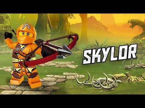 Ninjago skylor official video character youtube - Lego ninjago nouvelle saison ...