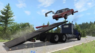 BeamNG.drive - T-Series Rollback Flatbed Tow Truck