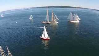 Port Townsend Bay On The Ed Nelson. Wooden Boat Fest Weekend 2014