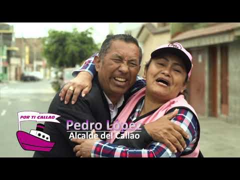 PEDRO LÓPEZ   ALCALDE DEL CALLAO 2019