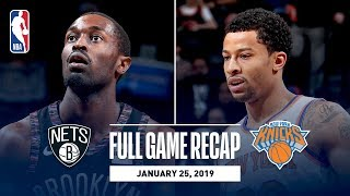Full Game Recap: Knicks vs Nets   Trey Burke Scores 25 Points