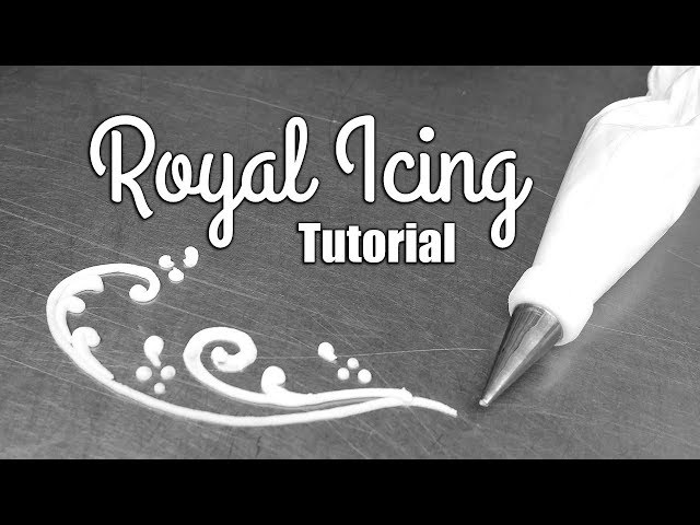How to Make Royal Icing for Cake Decorating!