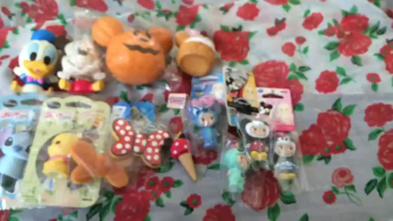 Claycupcakes4 Squishy Collection : Disney Squishy Collection - YouTube