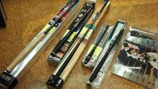 Telescopic rods: tenkara, keiryu (eza-zuri), tanago and more