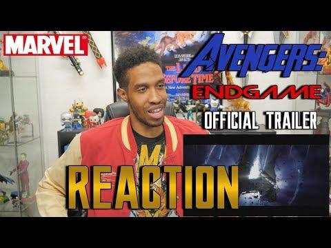 Avengers: Endgame Trailer #1 Reaction