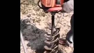 땅파는기계 99cc 핸드카트 일체형 농업용 미니 굴삭기…