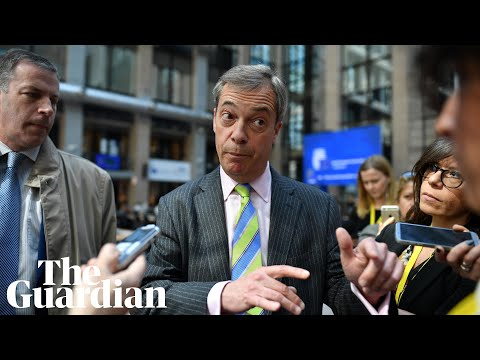 Nigel Farage launches his Brexit Party's European Parliament election campaign - watch live