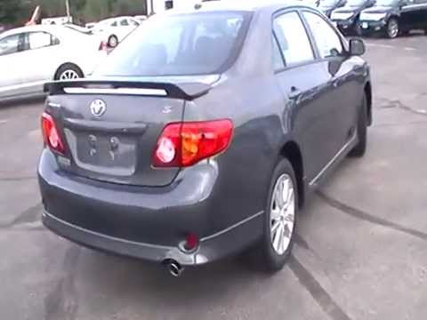 2010 toyota corolla s sunroof alloys spoiler. Black Bedroom Furniture Sets. Home Design Ideas