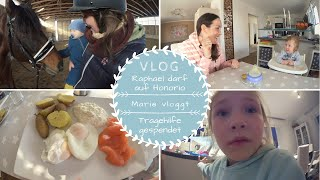 Mit Baby am Stall |Mama Alltag |Marie vloggt | Ehekrise?! |Kathis Daily Life
