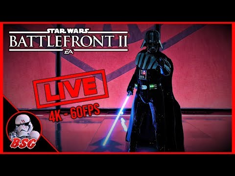 Happy New Years Eve! Star Wars Battlefront 2 | 4K Live Stream (4K 60FPS) thumbnail