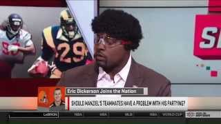 Eric Dickerson on Sports Nation July 7th 2014