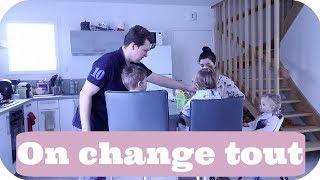 ON CHANGE TOUT ! - VLOG FAMILLE ALLO MAMAN