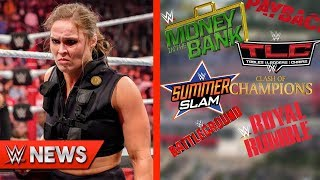 Ronda Rousey Turning Heel?! All PPV Dates & Locations REVEALED! - WWE News Ep. 225