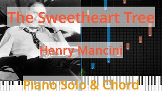 🎹Solo & Chord, The Sweetheart Tree, Henry Mancini, Synthesia Piano
