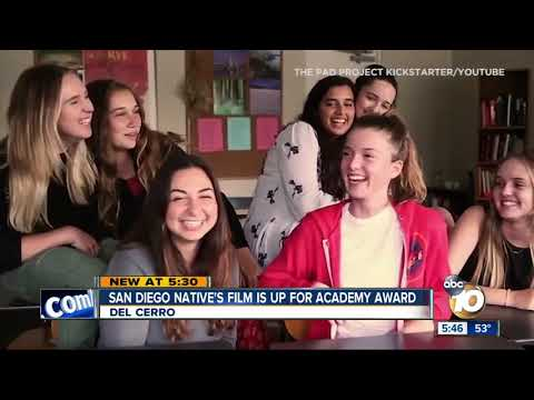 San Diego native's film up for Academy Award