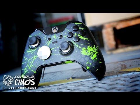 Xbox One Elite Obsidian Hex | Custom Controllers