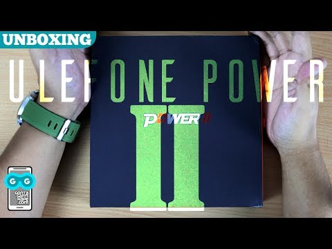 Unboxing Ulefone Power 2 Indonesia - Komplit di 2-jutaan, Dapet Hape Baterai SUPER GEDE!