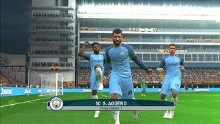 Hull City Vs Manchester City | Premier League 2016/2017 | PES 2017 Gameplay PC