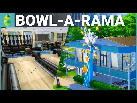The Sims 4 Building - Bowl-A-Rama - YouTube