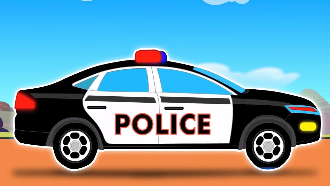 Carro Da Policia Car Wash Desenhos Para Cacoa Popula Cacoar