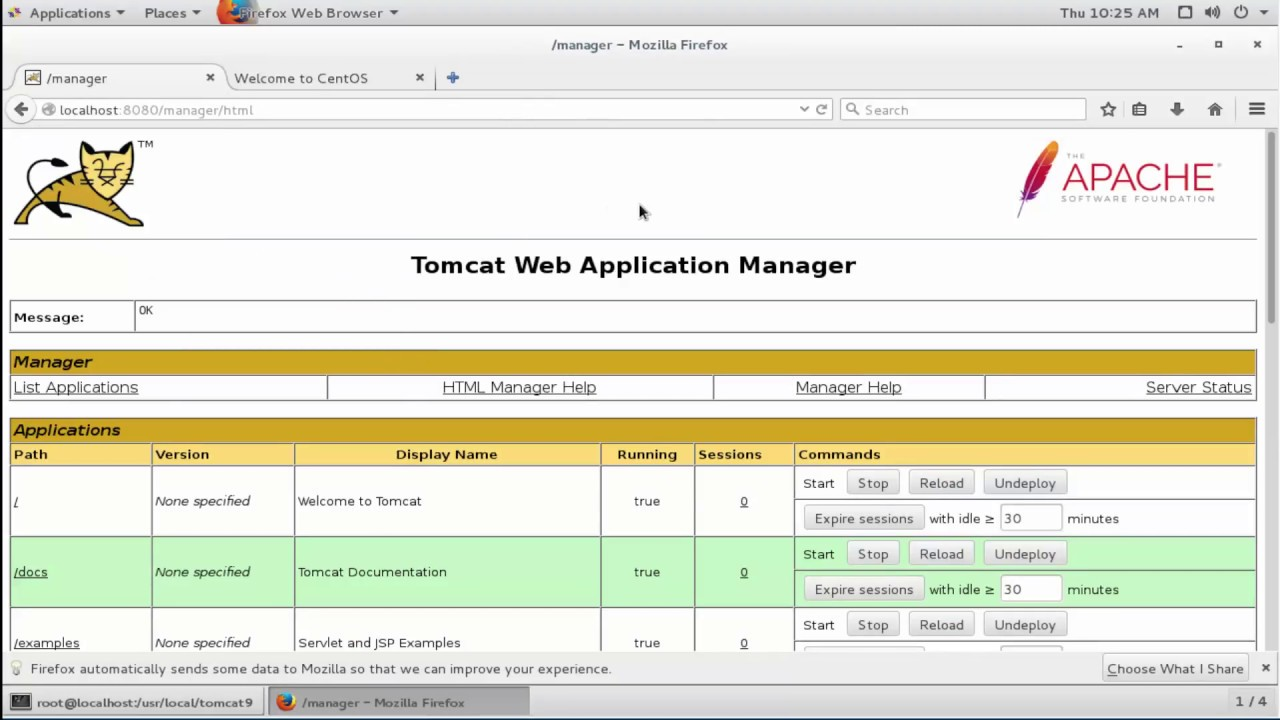 How to Install Tomcat 9 And Setup User Accounts on CentOS 7