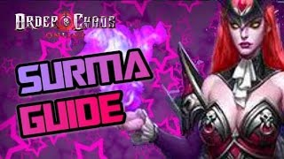 Order and Chaos online - Surma Guide - Update 29