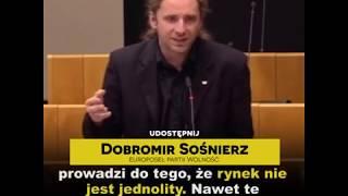 Sośnierz w Parlamencie Europejskim przeciwko gnębieniu obywateli podatkami!