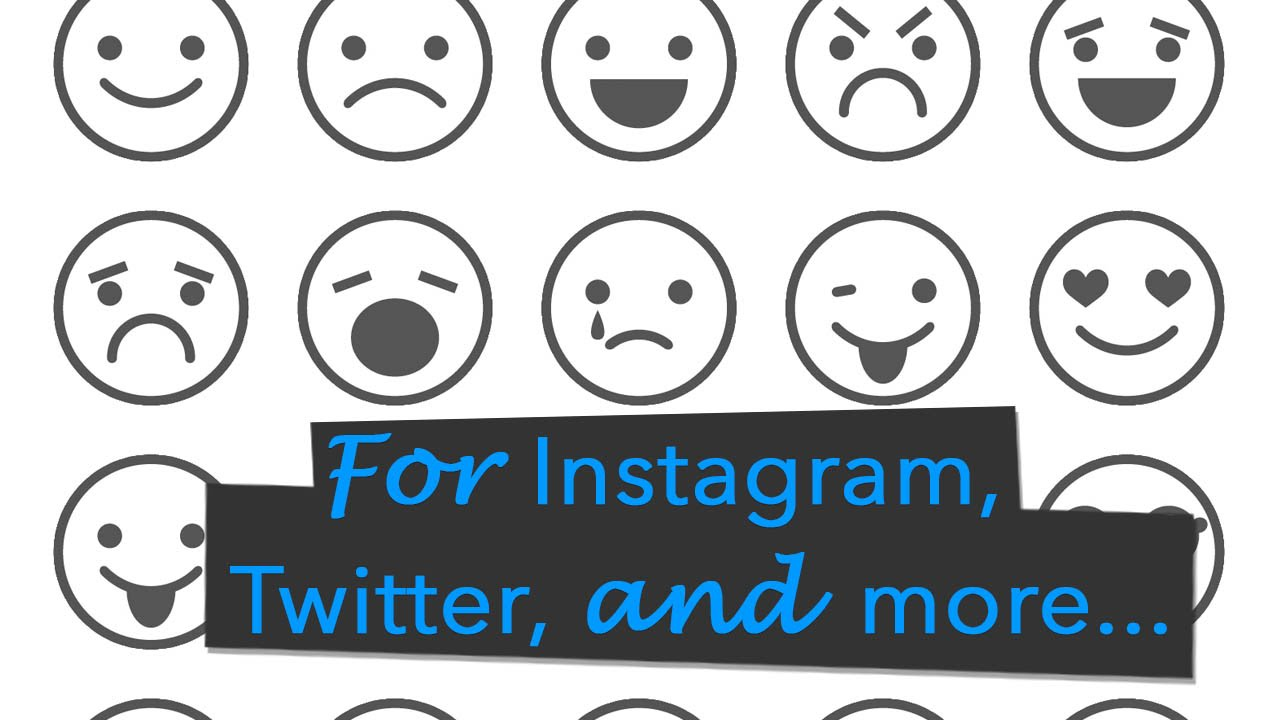 Black white emoji emoticonssmileys on android for instagram black white emoji emoticonssmileys on android for instagram and twitter youtube buycottarizona