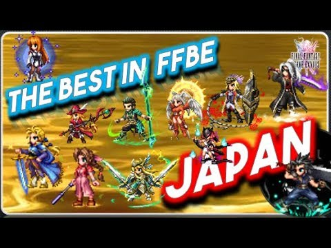 [FFBE] Ranking: The Best in Japan, Tier List all Roles!