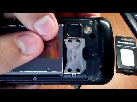 Обзор универсального адаптера для  сим карт. Universal Adapter For Micro And Nano SIM Cards