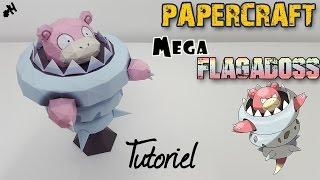 Papercraft - MEGA Flagadoss ! Tutoriel pour construire ton Pokemon en 3D