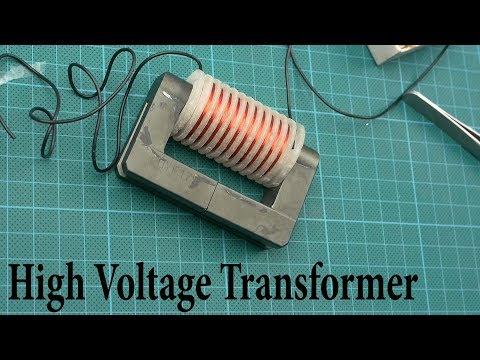 How to make a High Voltage Transformer