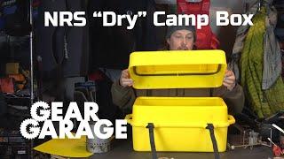 NRS Canyon Camping Dry Box
