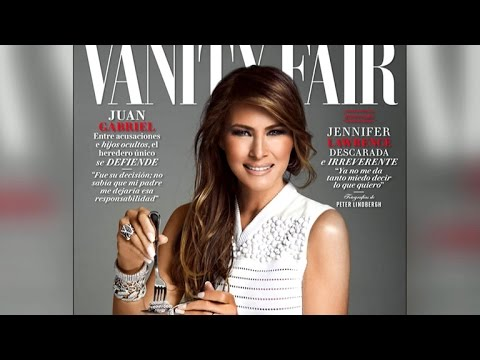 Melania Trump featured on cover of Mexico's Vanity Fair