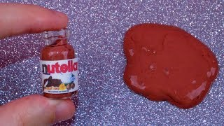 DIY Miniature Nutella - How to Make Miniature Things