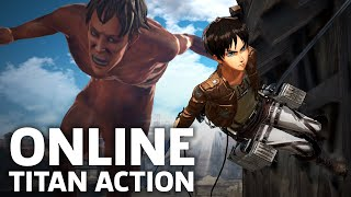 Attack on Titan 2 - Nintendo Switch Multiplayer Gameplay