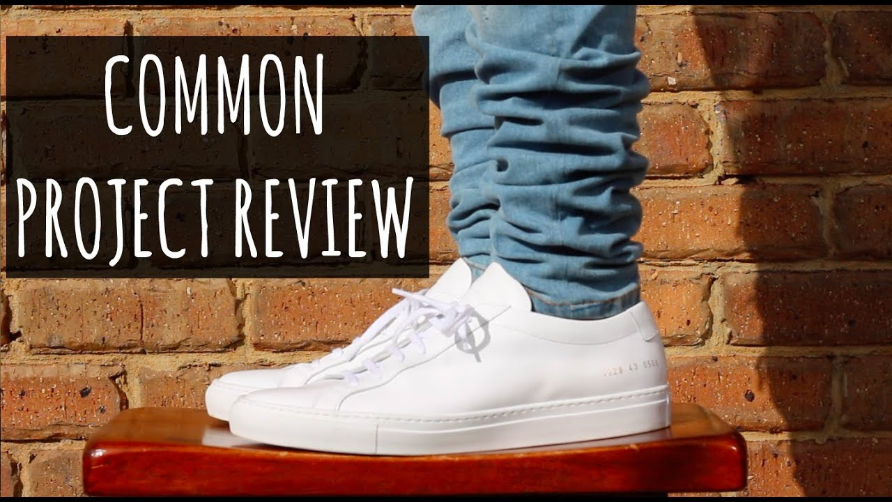 COMMON PROJECTS ACHILLES LOW SNEAKER REVIEW - YouTube 03473f622