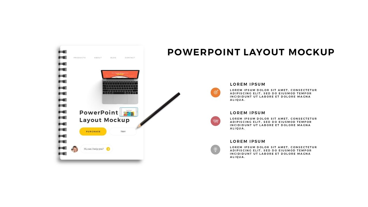 infographic spiral book powerpoint animation - youtube, Umd Presentation Template, Presentation templates