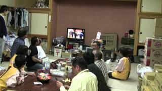 2011年4月29日~5月2日 たすきプロジェクトスタッフは岩手県陸前高田市...
