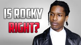aap rocky you dont need to be talented to rap