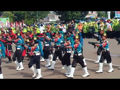 Paskibra MI Karawang lagu Syuhada Kemerdekaan