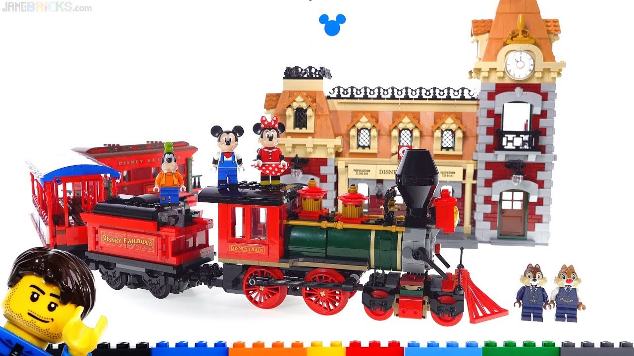 LEGO Disney Train & Station detailed fan review! 71044