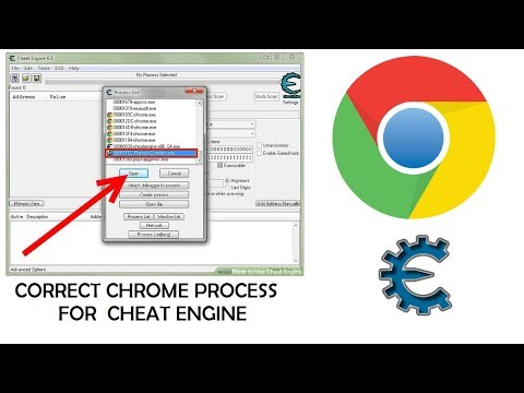 Correct Chrome Process For Cheat Engine
