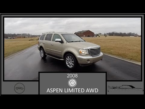 2008 Chrysler Aspen Limited AWD|In Depth Review|Walk Around Tour