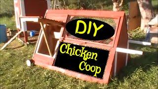 DIY Chicken Coop Design - How to build a chicken coop using old pallets Chicken Coop Design Ideas