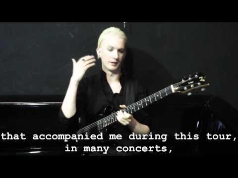 John Rox for ESP JR Eclipse DC Guitars [sub ENG]
