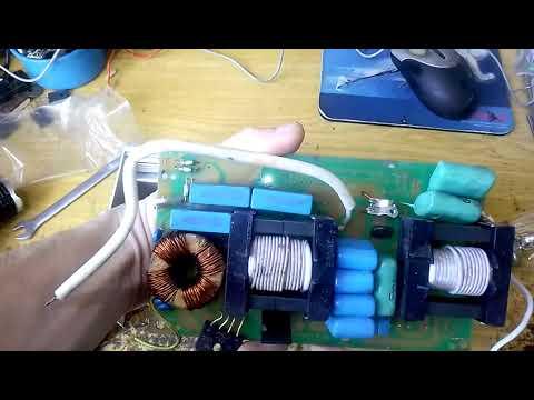Электронный балласт ЭПРА для ламп ДНАТ - ремонт