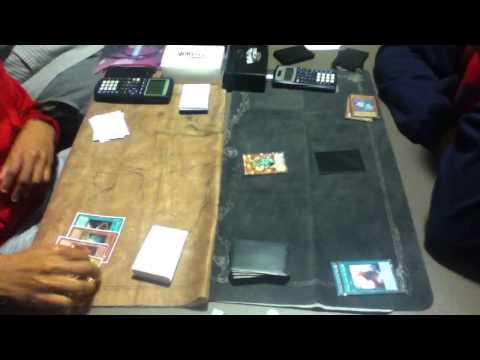 Yugioh ironman match round 1 game 2 dragon rulers vs  perfect herald